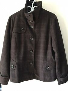 Ladies wool blend coat Kitchener / Waterloo Kitchener Area image 1
