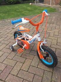 'Dusty' Planes children's first bike