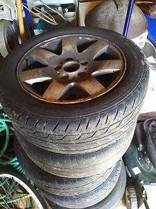 Set of 4 Rim & Tires - E46 BMW - Only $160!!!