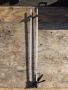 Techno pro 100cm girls down hill ski poles