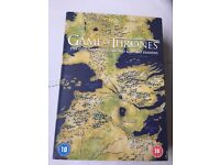 Game of Thrones The complete first, second and third seasons