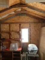 LARGE STORAGE SHED 9x16 FOR SALE