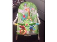 Fisher price toddler and baby rocker