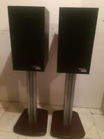 PARADIGM MONITOR SERIES SPEAKERS AND STANDS