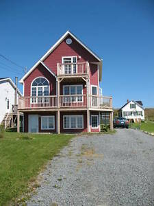 Unique, 3 storey ocean view home in HRM available May 1st.