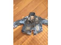 Next denim jacket. 6-9 months