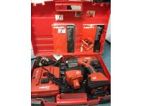 Hilti cordless drill SF 181-A Very good condition charger and 2 batteries
