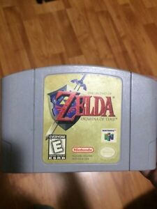 Zelda ocarina of time a vendre