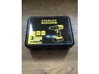 BRAND NEW STANLEY FAT MAX DRILLS LAST 2 LEFT SEALED AND NEVER OPENED