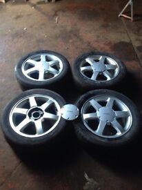 "Ford cougar 16"" alloys"