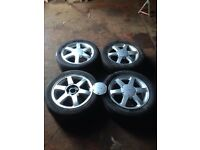 "Ford cougar 16"" alloys"