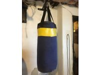 Punch bag & bracket