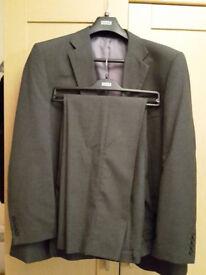 M+S Grey Suit