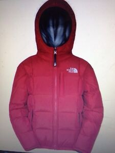 New North Face Reversible Down Jacket Sz 4