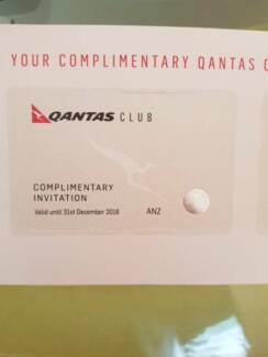 Qantas Club Lounge Passes x 2 (expiring 31/12/18)