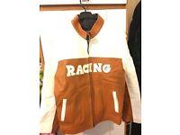 Leather Jacket Racing Motor Bike/ Casual wear