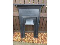 Fireplace cast