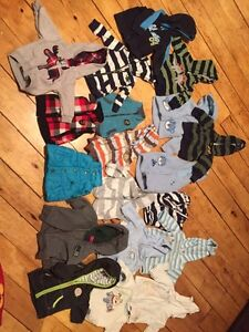 3 month BOY sweaters