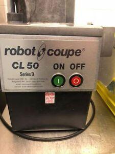 Robot coupe CL50 food prep machine -Save $$ On Labour!