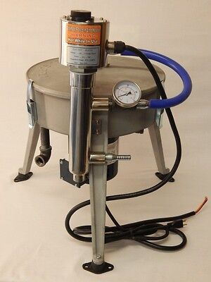 Ultimate Force Centrifuge 240v W 1500 Watt Heater Oil Wvo Wmo Biodiesel