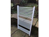White towel radiator 98 x 60 cm