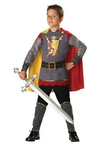 Size 5 Boys Knight Costume