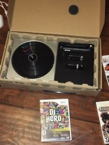 Wii console bundle, guitar, DJ, fit, other games Cambridge Kitchener Area image 5