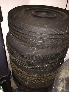 215/70R15 - WINTER TIRES - CAN DELIVER  within KW  Cambridge Kitchener Area image 1