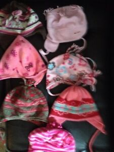 Souris Mini girl's winter hats 12 M to 2y. AVAILABLE