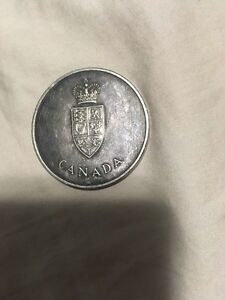 Old Canadian confederation coin Cambridge Kitchener Area image 2