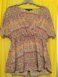 3 short sleeve tops, size large