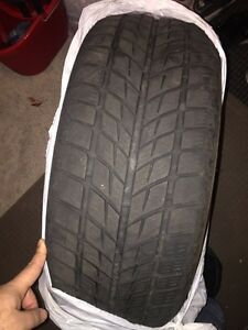 225/55r/17 4 winter tires used 2 seasons only West Island Greater Montréal image 1