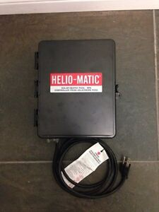 Helio-Matic Solar Heated Pool/Spa Controller