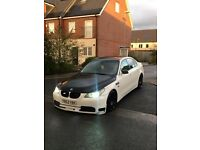 Bmw 530d modified full loaded White end black