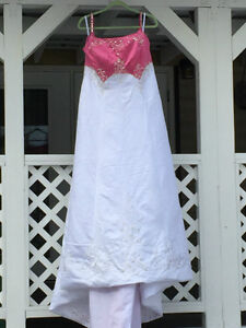 Wedding Dress New Pink Size 18 - 22 Prince George British Columbia image 1