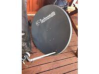 Technomate satellite dish 1m