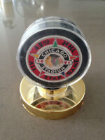Mint Condition- 1991 Chicago Blackhawks All-Star Game Puck