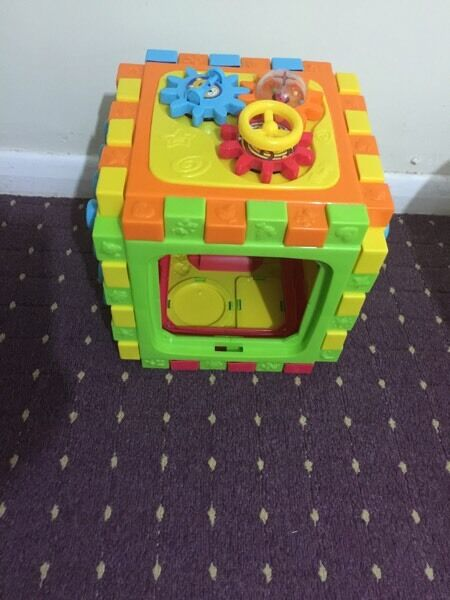 Activity cube for kids