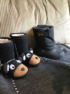 Toddler boys winter boots-  size 8 Windsor Region Ontario image 1