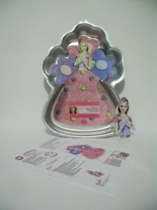 Wilton Celebration Barbie Cake Pan - Complete