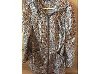 New look size 8 rain jacket