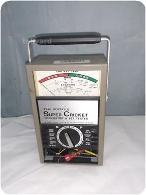 Sencore Tf46 Portable Super Cricket Transistor Fet Tester 255758