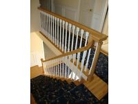 STAIRS REFURBISH .. STAIRS COLOUR CHANGES.. STAIRS STORAGE.. BESPOKE HANDRAILS.