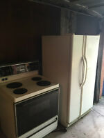 stove frigidaire and fridge kenmore WORKING PERFECT
