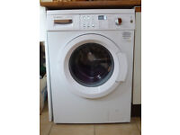 Bosch WAQ283 S1 freestanding washing machine, 8kg load, A+++ energy rating, 1400rpm spin, white.