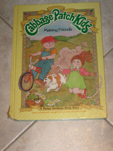 A PARKER BROS. STORY BOOK...CABBAGE PATCH KIDS...MAKING FRIENDS