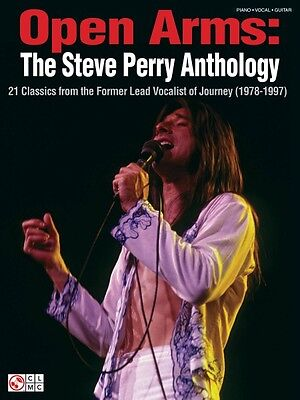 Open Arms The Steve Perry Anthology Sheet Music 21 Classics Journey  002500678