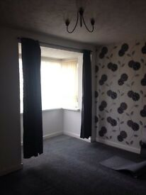 A nice flat newly decorated and carpeted is available for a reliable tenant