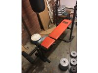 Bench & weights