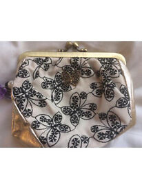 Brand new Anna Sui small clutch bag